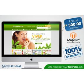 Loja Virtual Magento - Herbalife E Produtos De Nutrição V3.2