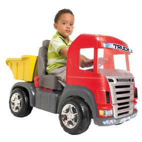 Caminhão Truck Pedal Vermelho 9300 Som E Luz