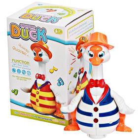Patinho Musical Dançarino Canta Dança Dancer Duck Brinquedo!