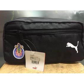 Bolsa De Mano Para Viaje Puma 100%original Chivas 2018 Negra