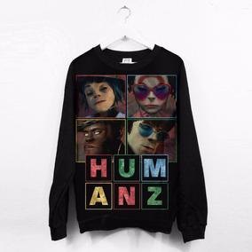 Moletom Feminino Canoa Gorillaz Humanz Album Andromeda
