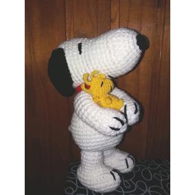 Snoopy Tejido Crochet