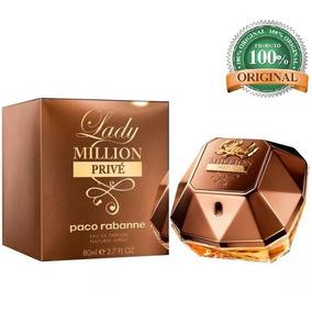 Perfume Feminino Lady Million Prive Original 80ml Ad8021