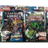 Wolverine Y Captain America Comic Pack Marvel Universe