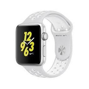 Apple Watch Nike+ 42mm Mq192ll/a S2 Silver Relógio Novo