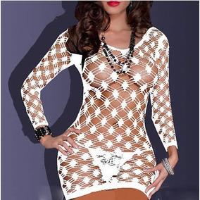 Vestido Transparente Muito Sexy (produto Importado)