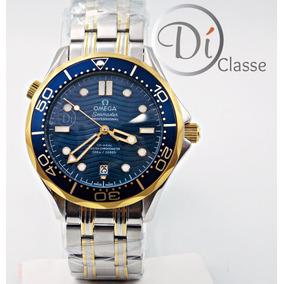 Omega Seamaster Coaxial Color Azul - Reloj de Pulsera en Mercado ... d55e42299680