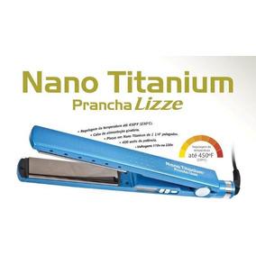 Chapinha Profissional Nano Titanium 1 1/4 450ºf Lizze #promo