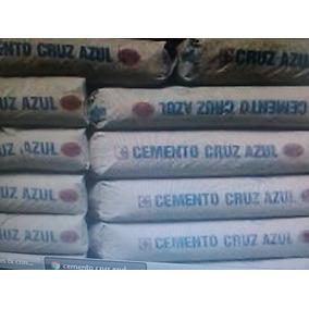 Cemento Cruz Azul 50kg Gris Los Q Ocupen Mi Compa.$3100tn.
