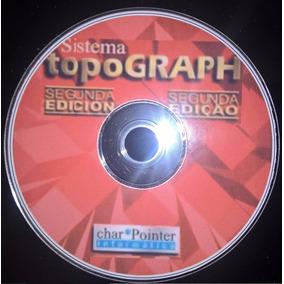 Topograph 98 Se - Versão 3.05 - Com Georreferenciamento -dvd