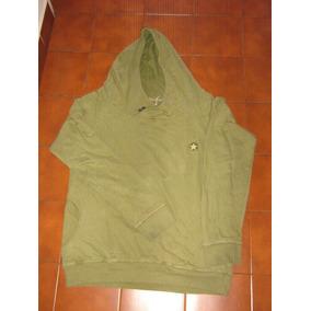 Americanino Buzo Con Capucha Xl Verde Militar