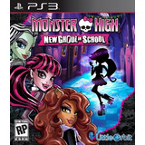 Monster High New Ghoul On School Ps3 | ¡ Entrego Y A !