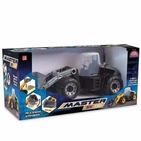 Trator Escavadeira Master Sx Titanium - Usual Plastic - 176