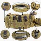 10x Bornal Militar Pochete Paintball Airsoft Modular