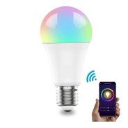 Ampolleta Wifi Inteligente Rgb Colores 9w Alexa