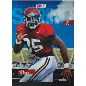 Revista De Futbol Americano Colegial 2012 Alabama