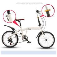 Bicicleta Plegable Nuevas Aro 20 Hasta 100 Kilos Pesa 12 Kgs