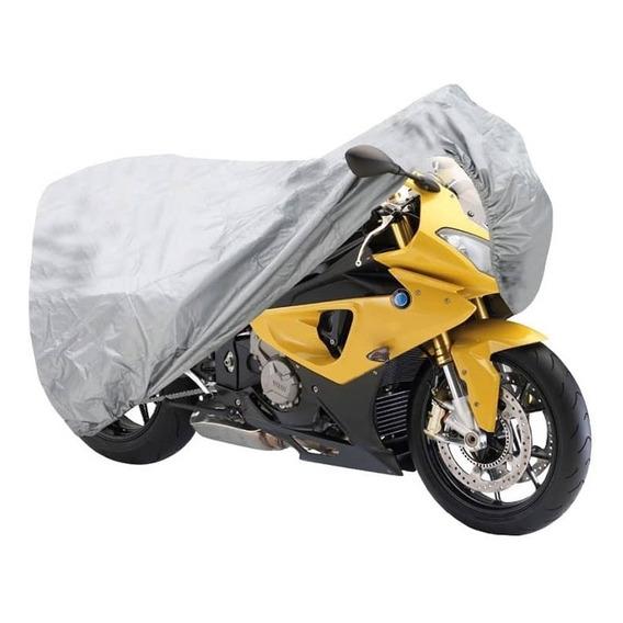 Funda Cubre Moto Cobertor Impermeable Talle L Proteccion Uv 250cc
