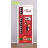 Adesivo Para Porta Coca Cola Maquina Refrigerante Mod. 387