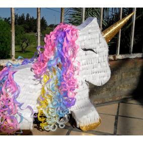 Piñata Unicornio Cotillon Cumpleaños Fiesta