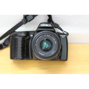 Camera Analogica Minolta Maxxum 3xi Com Lente E Tampa