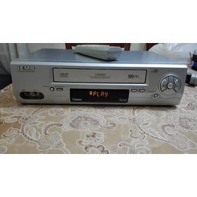 Video Cassete Semp X-698 7 Cabeças Hi-fi Stereo + Controle
