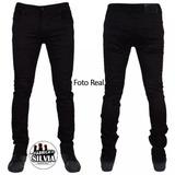Pantalon De Caballero Jeans - Corte Slim Fit - Tendencia