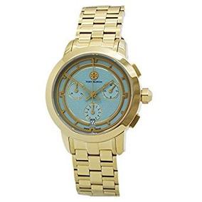 Ip Oro Trb1021 Tory Burch Tory Mujeres Reloj Cronógrafo De