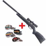 Rifle Gamo Wildcat Whisper Nitro Piston + Mira + Kit Balines