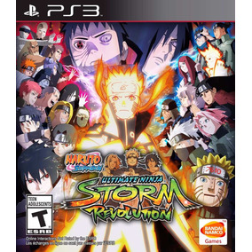 Naruto Ps3 Digital Shippuden Ultimate Ninja Storm Revolution