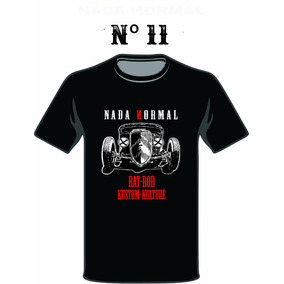 Remeras Estampadas Rock, Motos, Autos, Rat-rod, Old School