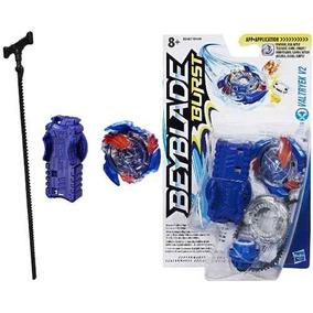 Brinquedos Menino Beyblade Lançador E Pião Valtryek B9487