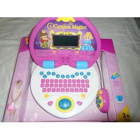 Laptop Para Niñas Girls Juguete Didactica Aprende