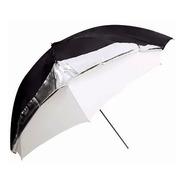 Sombrilla/paraguas Godox Dual Plateado/translucido 101 Cm