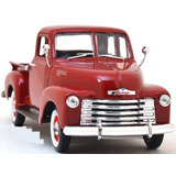 Welly 1953 Chevrolet 3100 Pickup Truck Clasica 1:24 Roja