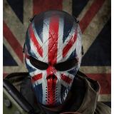 Mascara Airsoft Paintball Thermal Com Tela Skul, Reino Unido