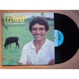 Cezário- Lp Sanfona, Fera E Viola- 1990- Original- Semi Novo