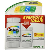 Centrum 130 Everyday Valu Size 130ct Centrum 130 Everyday