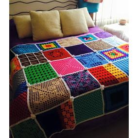 Colcha Tejida A Mano En Crochet