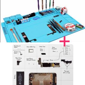 Kit Tapete Silicon Antiestatica 45x30cm + Magnético 30x25cm