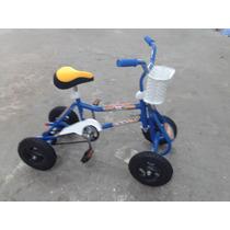Cuatriciclo A Pedal Antivuelco ! Ruedas Macizas