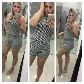 Macaquinho Feminino Ilhos Curto Modelo Princesa Fique Linda!