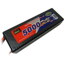 Bateria Lipo 2s 7.4v 5000mah 30c Hard Case Ep