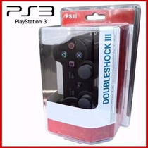 Controle Joystick Dualshock 3 Ps3, Ps3 Slim Pc Com Fio