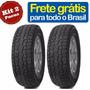 2x Pneu 205/65-15 Scorpion Atr Ecosport Remold Novo Garantia