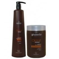 Shampoo 1l E Mascara Ojon + 7 Reconstrucao 1kg - Minasflor