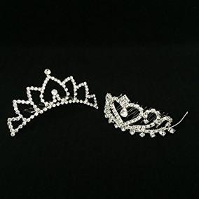 Juguete Niñas Princesa Tiara De La Corona Con El Peine Para