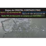 1 Hoja De Cristal Cortado Para Candil, Cortina, Decoración