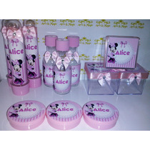 Kit Festa Personalizado Minnie Rosa
