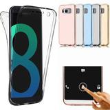 Forro Estuche Funda 360° Samsung S6 Edge S8 Y S8+